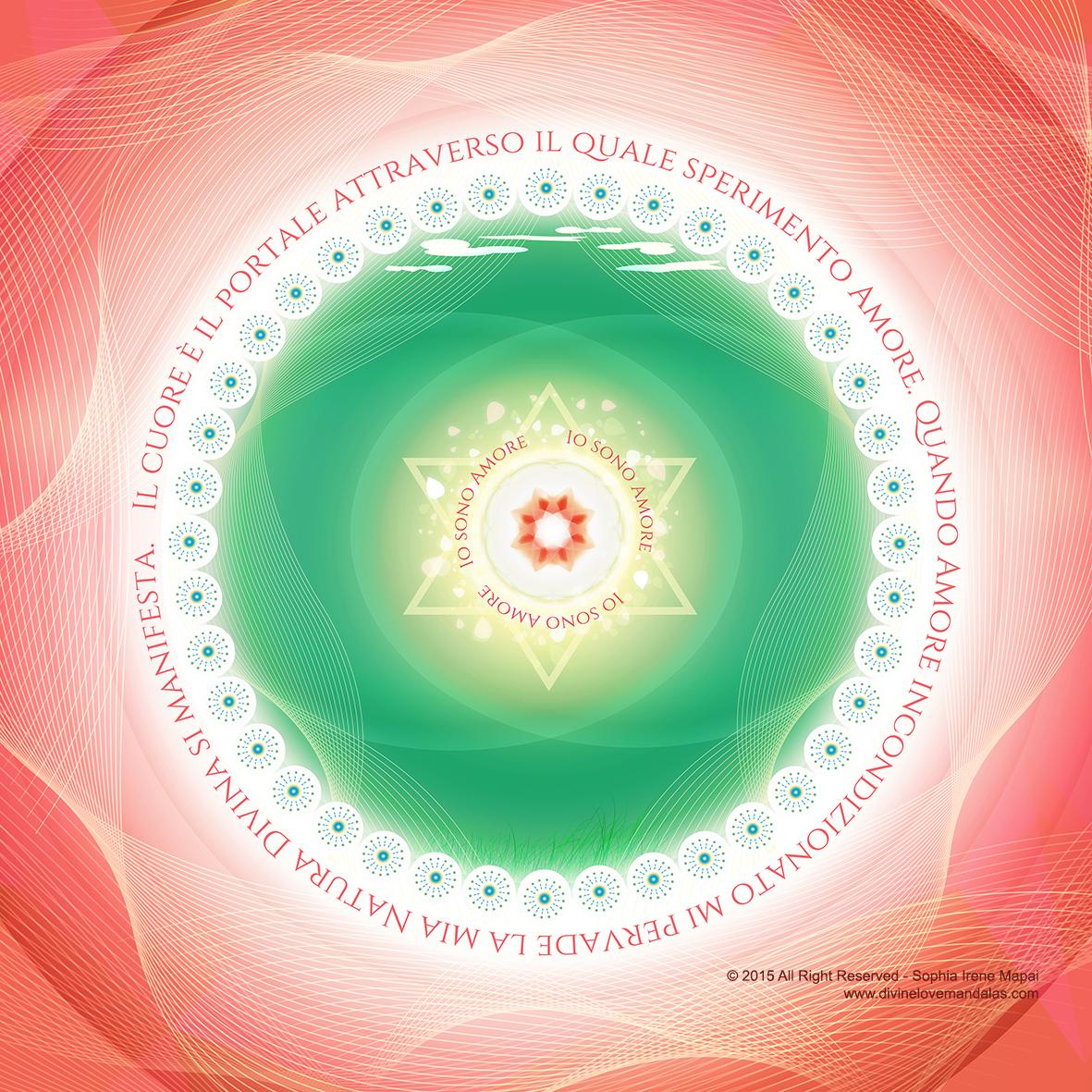 Ali di compassione - Divine Love Mandalas