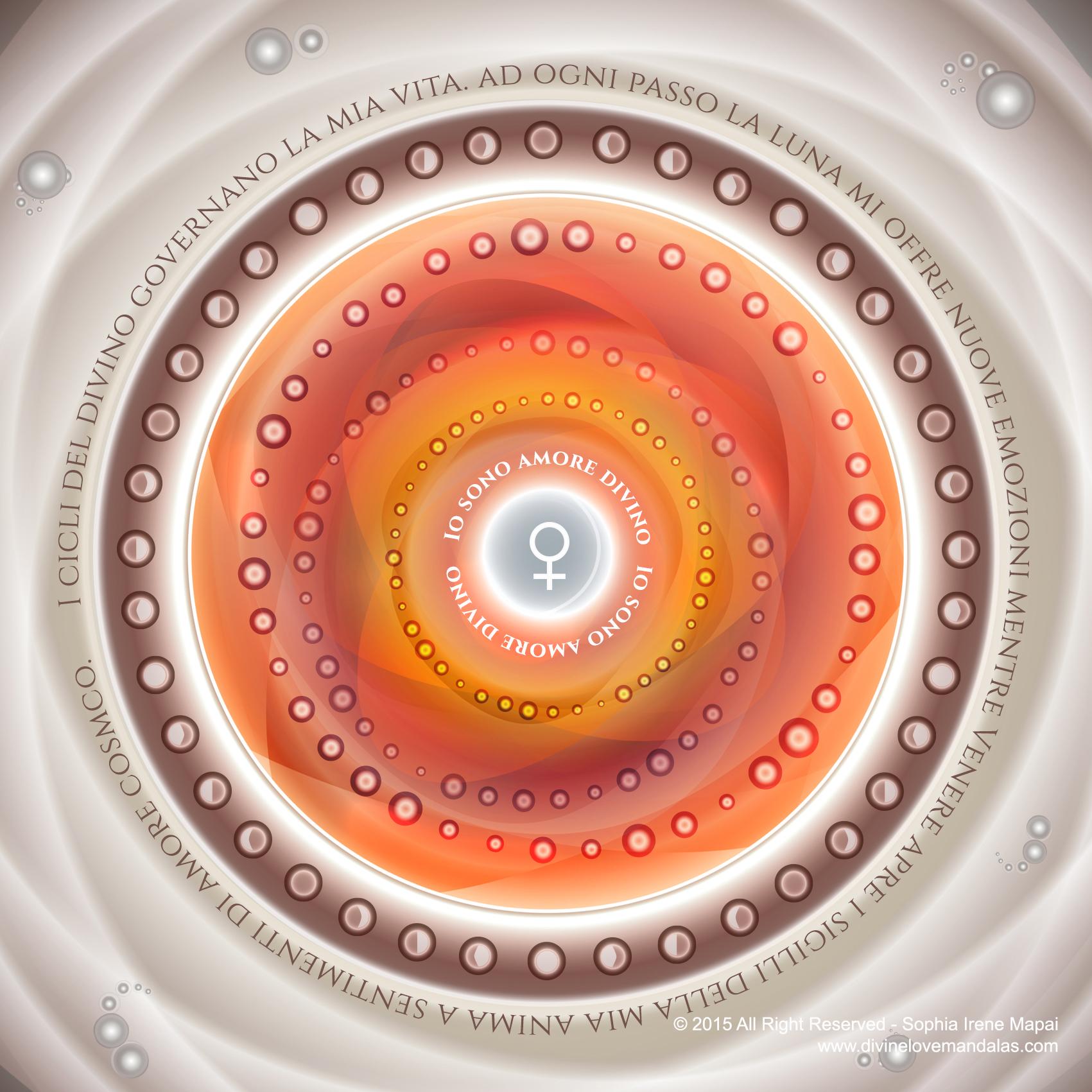 Giardino emozionale - Divine Love Mandalas