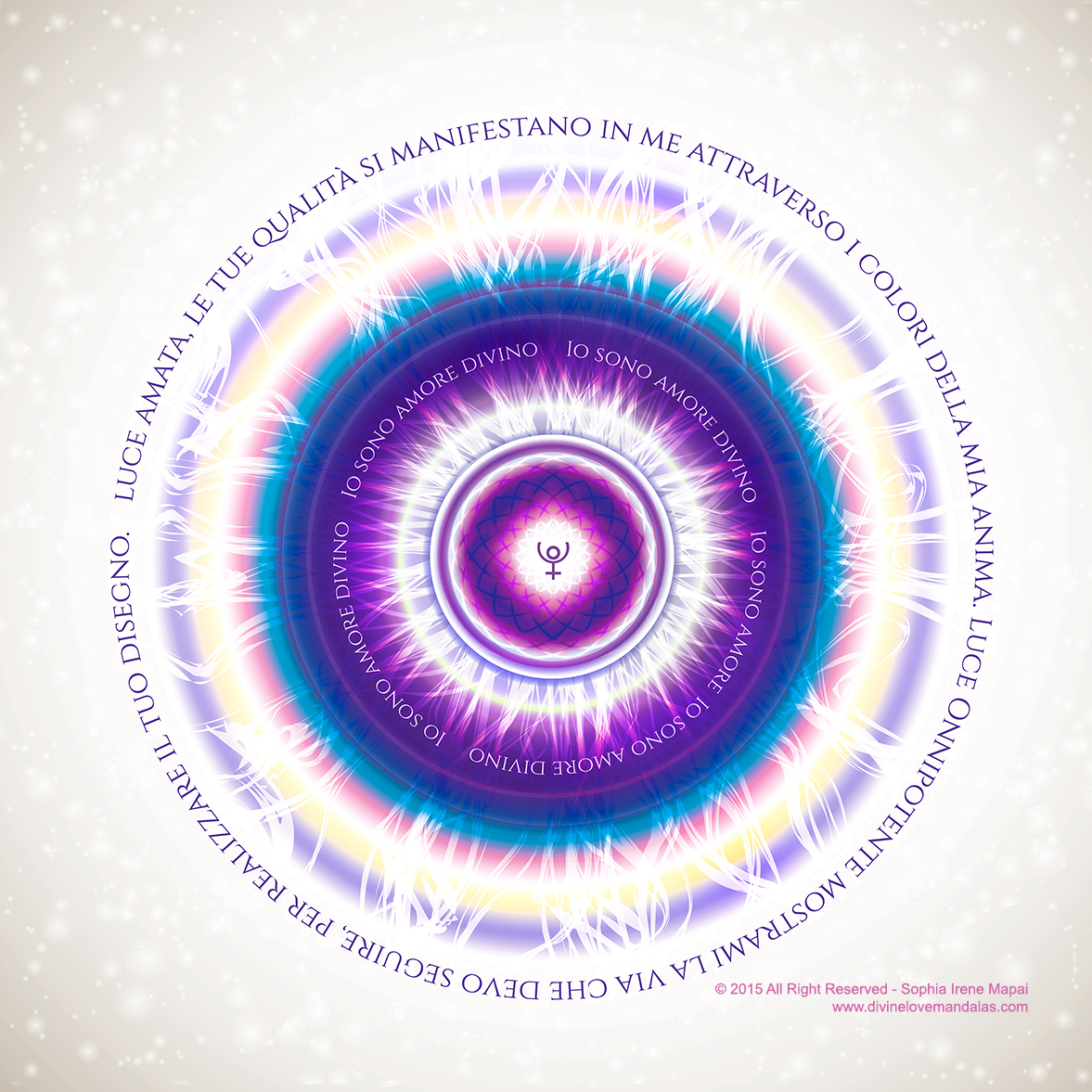 Maestria della luce - Divine Love Mandalas